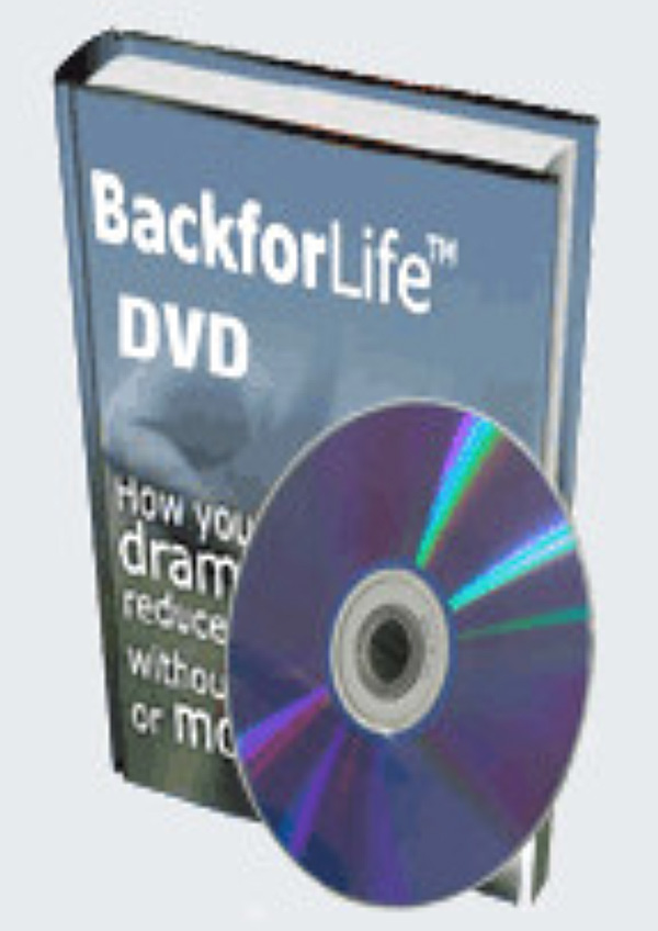 Back for Life DVD
